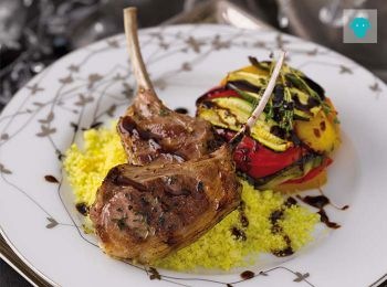 Costolette di agnello glassate all'aceto balsamico